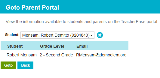 How does an admin view the parent/student portal? – Knowledge Base