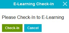 How to check-in on remote/e-learning days
